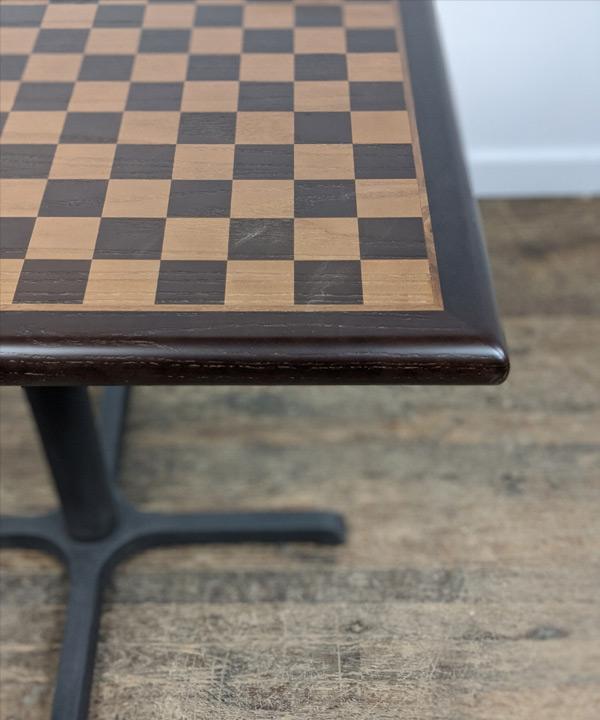 24 x 36 Oak Chess Veneer