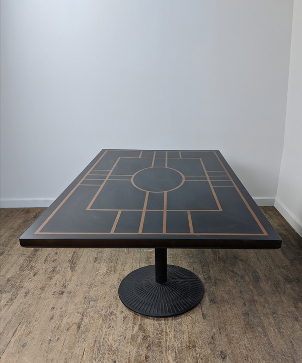 Rectangular Patterned Table
