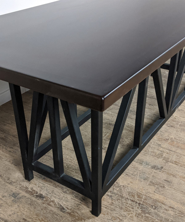 Counter Height Metal Base