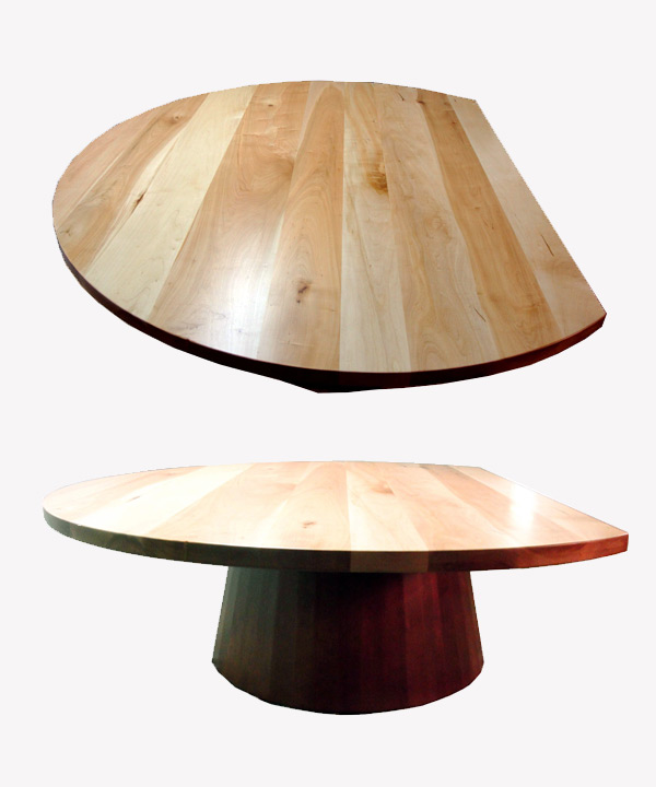 Round Maple Slab