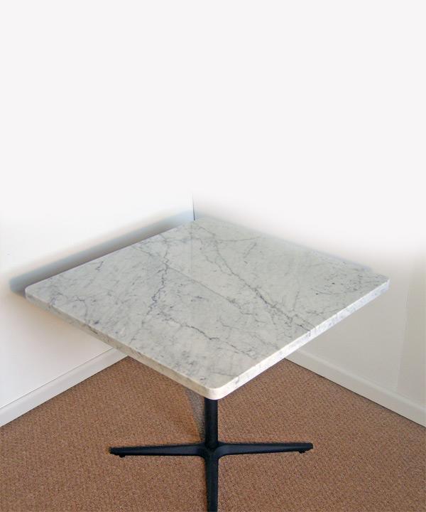 Solid Carrara Top Table