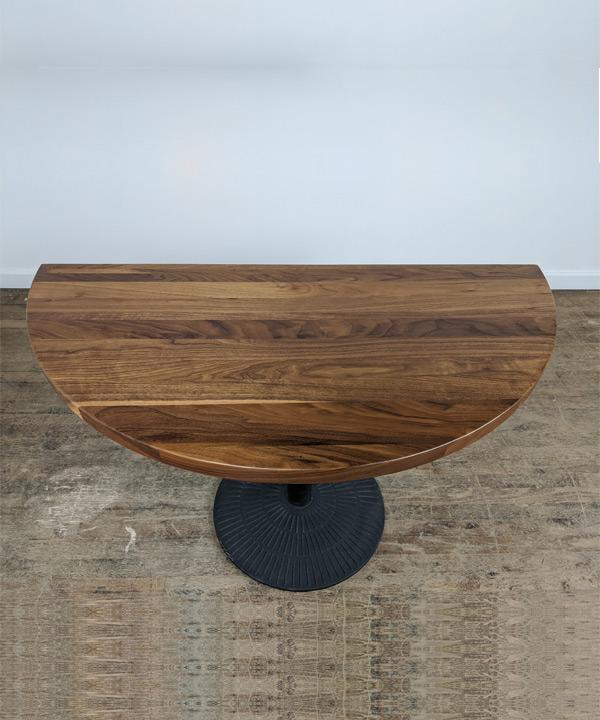 Half Moon Table Top
