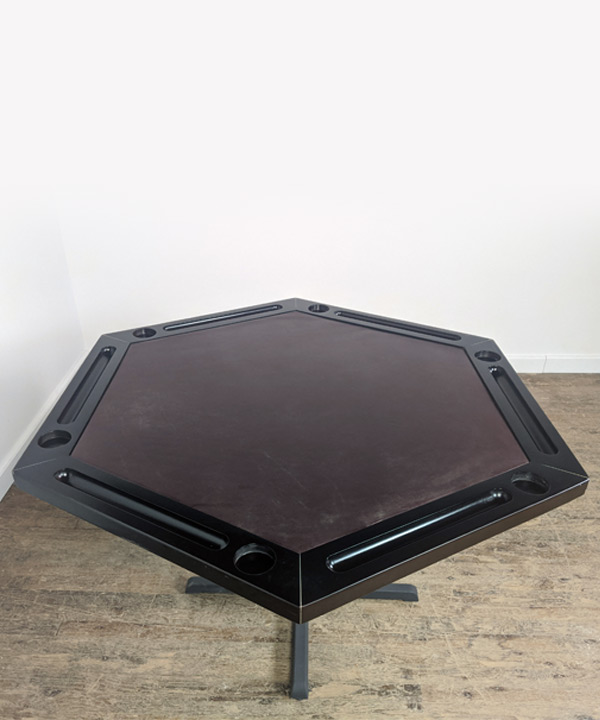 Poker Table Leather Top