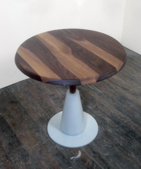 White Base Side Table