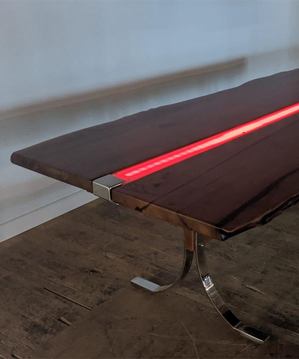 LED Strip Split Slab Top