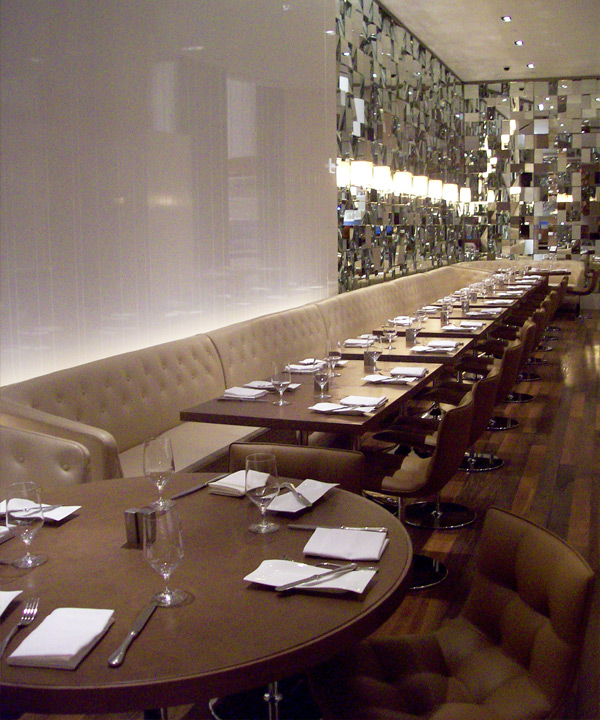 Pickled White Ash Communal Table